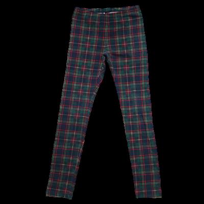 134-es zöld-piros kockás leggings - Calzedonia