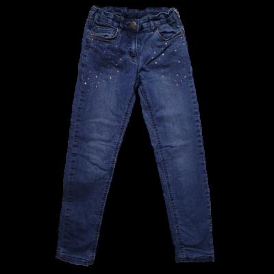 134-es kék bélelt strasszköves farmernadrág - C&A