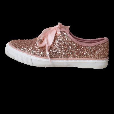 34-es aranyszínű csillog cipő - Reserved