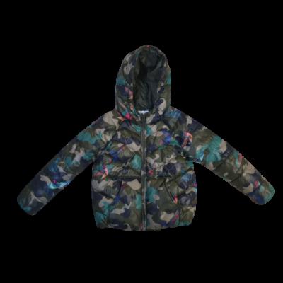 116-os zöld terepmintás madaras kabát - Zara