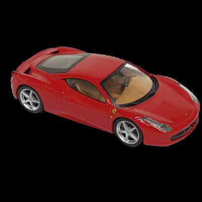 Piros kisautó - Ferrari 458 Italia - 1/43