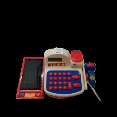 Játék pénztárgép (kicsit használtabb)