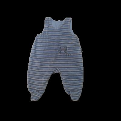 62-es kék ujjatlan plüss rugi - Kanz