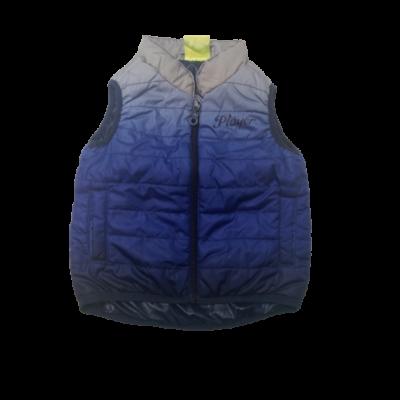 74-80-as kék színátmenetes pufimellény - Impidimpi