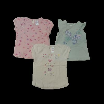 74-es lepkés pólók, 3 db egyben - 2 C&A és egy Baby