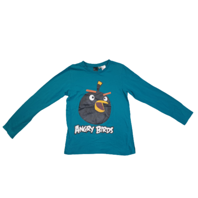 158-as zöld pamutfelső - Angry Birds