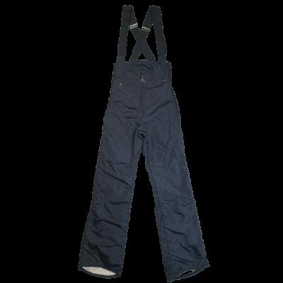 152-es fekete overallalsó, sínadrág