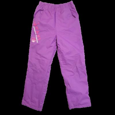 122-es lila polár bélésű feliratos nadrág