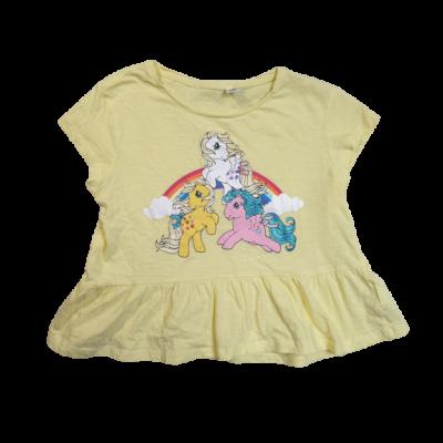 128-as sárga mintás tunika jellegű top, póló - My Little Pony