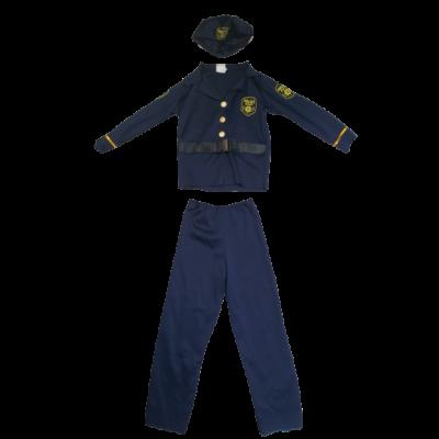 110-es kék rendőrjelmez,3 részes - ÚJ