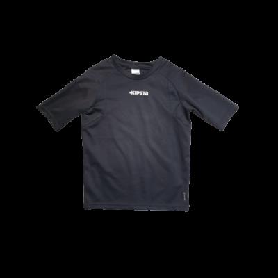 116-os fekete feliratos sportfelső - Kipsta