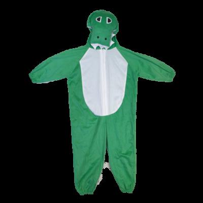146-152-es zöld krokodil vagy dínó jelmez