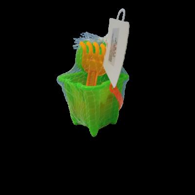 Zöld mini homokozókészlet - ÚJ