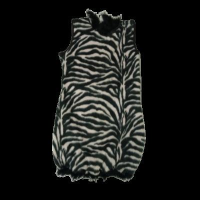 Nagylány vagy női zebra jelmez