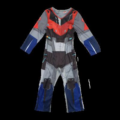 3-4 évesre szürke-piros kezeslábas jelmez - Transformers