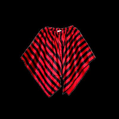 3-4 évesre piros-fekete csíkos jelmez szoknya