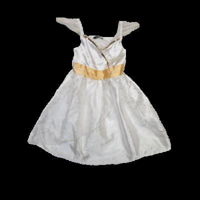 3-4 évese fehér tüllös csillagos tündér jelmez ruha - George