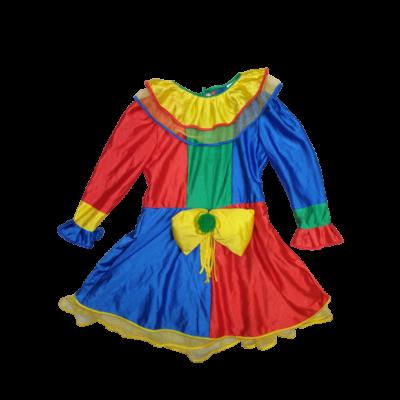 128-as színes bohóc jelmezruha