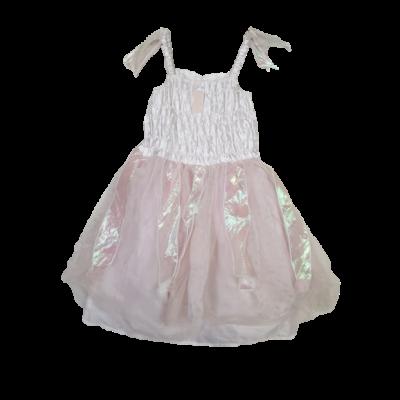 4-7 évesre halványrózsaszín tüllös jelmezruha