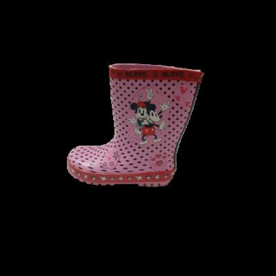 29-es rózsaszín gumicsizma - Minnie és Miki Egér - George - ÚJ