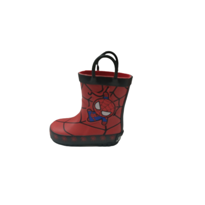 21-es piros Pókemberes gumicsizma - Spiderman - George - ÚJ