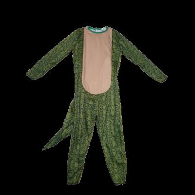 6-7 évesre zöld kígyóbőr mintás kezeslábas jelmez
