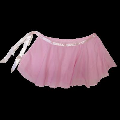 Rózsaszín tüllös lány táncos szoknya, jelmez