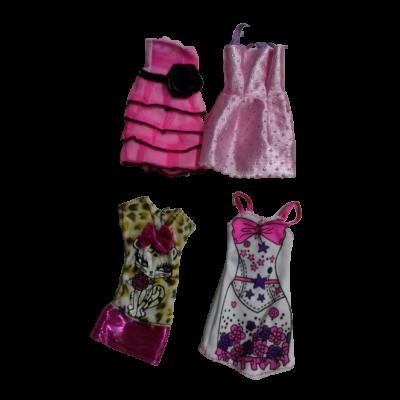 Barbie ruhák, 4 db egyben - ÚJ
