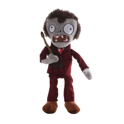 Zenész zombi plüss figura - Plants vs. Zombies - ÚJ
