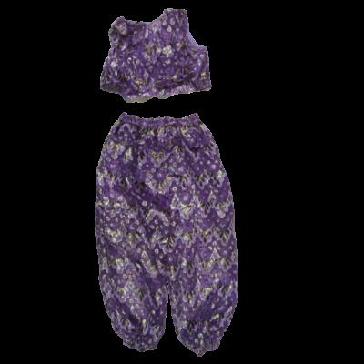 Nagylányra lila hastáncosnő, keleti nő jelmezruha
