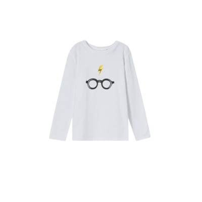 104-es fehér pamutfelső - Harry Potter - ÚJ