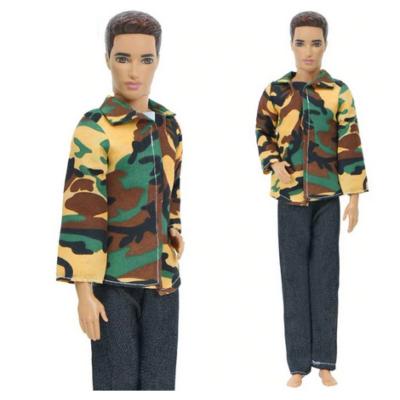 Terepszínű kétrészes ruha, fiú Barbie (Ken) ruha - ÚJ