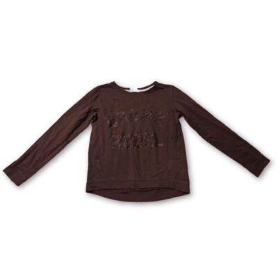 158-164-es csillogós pamut pulóver lánynak - H&M