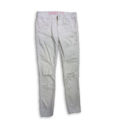 152-es fehér lány farmernadrág - H&M Skinny Fit