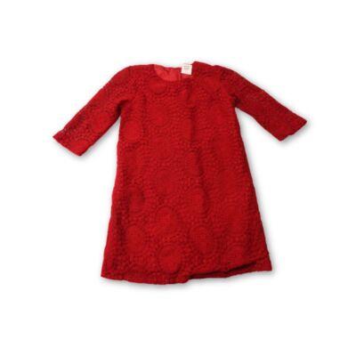 140-es bordós-piros csipke-tunika - Zara