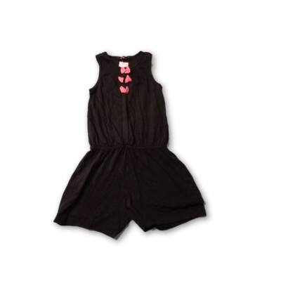 134-es fekete playsuit - George
