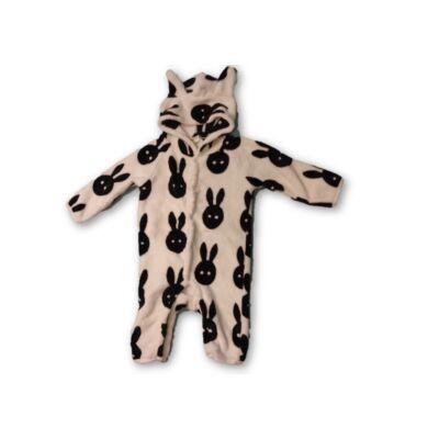 74-es szőrmés nyuszis háziruha, pizsama, rugi