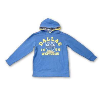 122-es kék kapucnis pulóver - Dopodopo