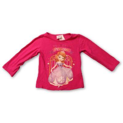 92-es pink pamutfelső - Sofia hercegnő