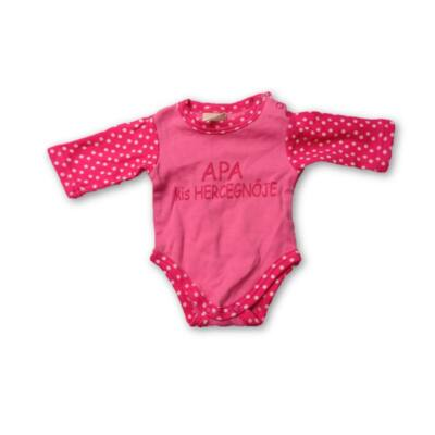 50-as pink hosszúujjú body - Asti