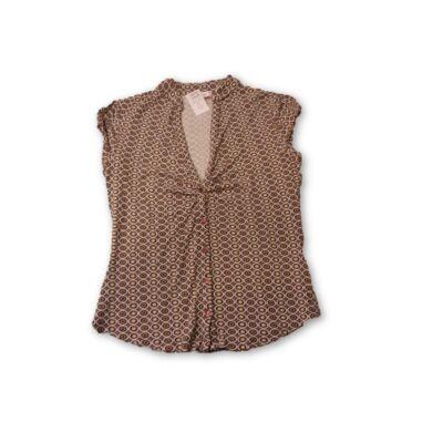 d2d99a92aa40 Női S-es barna körmintás póló - Orsay - felicity.hu használt ruha ...