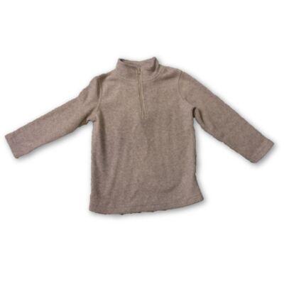 116-os szürke polár pulóver