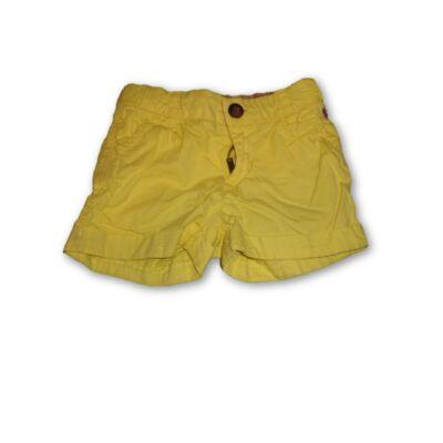 98-as sárga rövidnadrág, short - H&M
