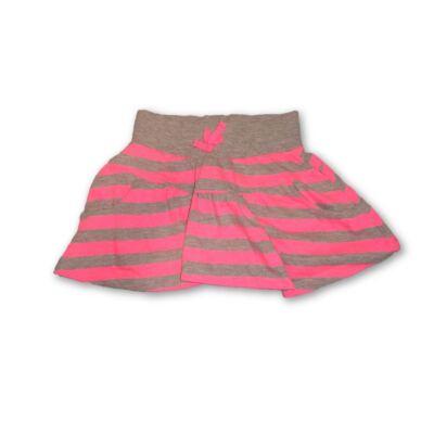92-es szürke-rózsaszín csíkos szoknya - F&F