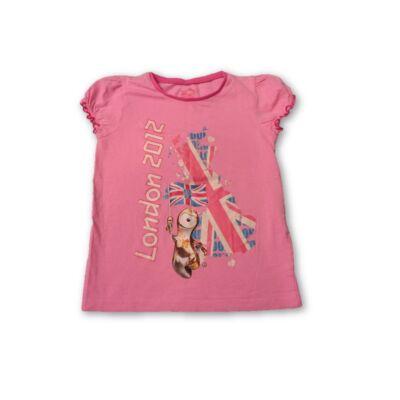 140-es rózsaszín póló - London