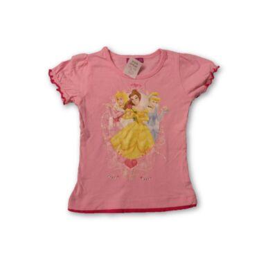 92-98-as rózsaszín póló - Hercegnők