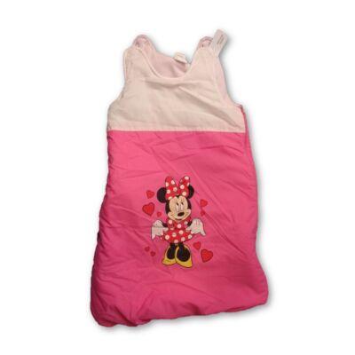 68-74-es rózsaszín-fehér hálózsák - Minnie Egér
