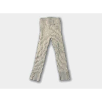 98-as drapp lábfej nélküli bordás harisnya - H&M