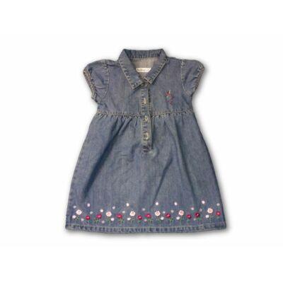 92-es kék virágos farmerruha - Milou