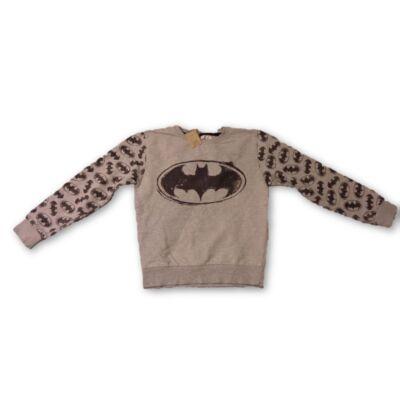 122-128-as szürke pulóver - Batman